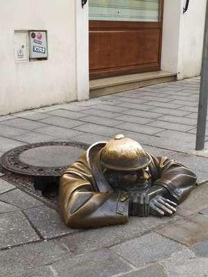 Man at Work, Bratislava